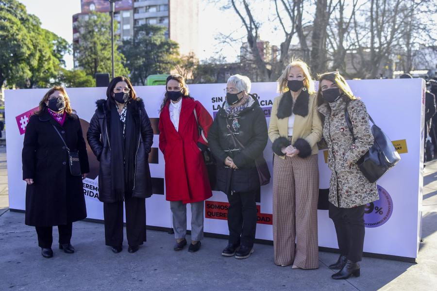 Lanzamiento de campaña Democracia Paritaria