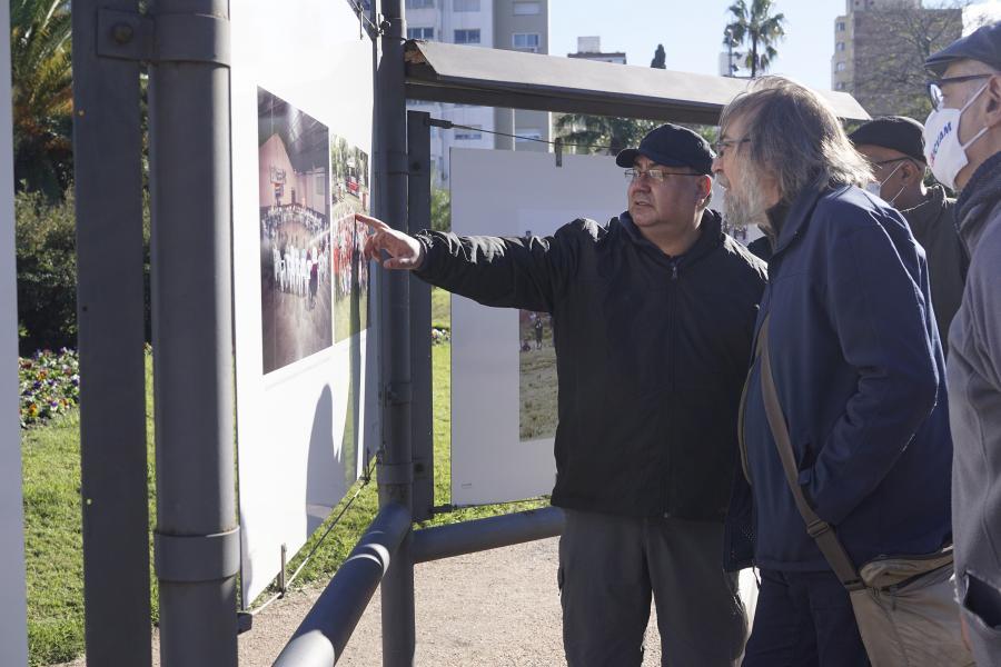 """Inauguración de muestra fotográfica """"Fucvam, 50º aniversario"""