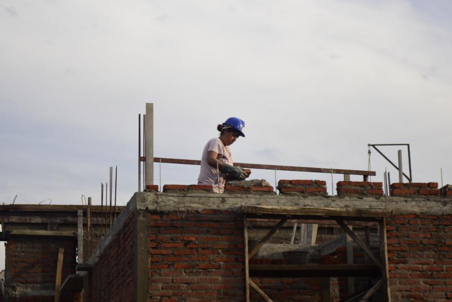 Cooperativa de vivienda de Mevir en Tambores