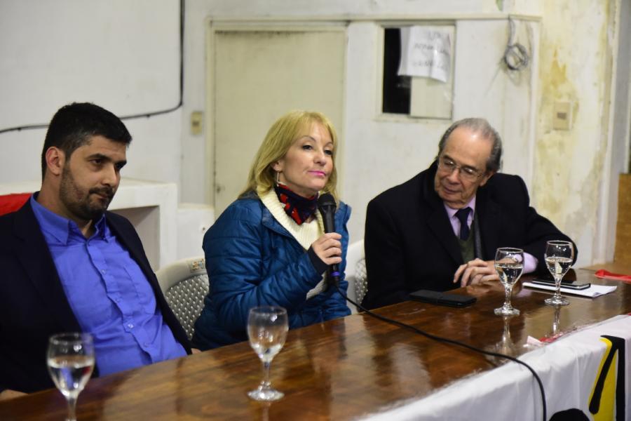 Charla junto a Lenadro Grille en el  Local FIDEL
