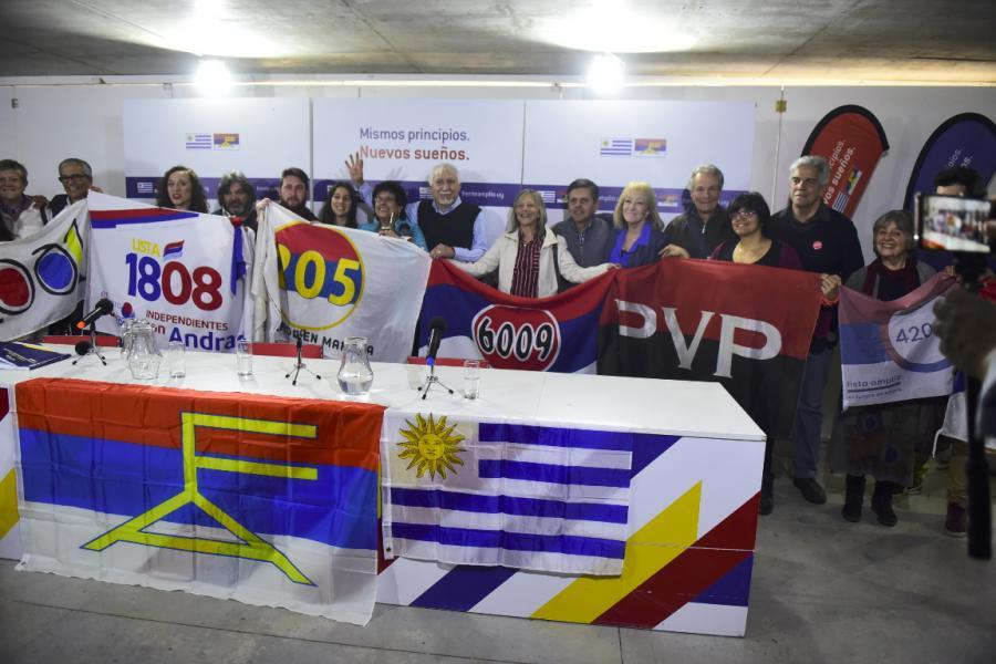 """Presentación del sub lema """"Unidad para los cambios"""""""