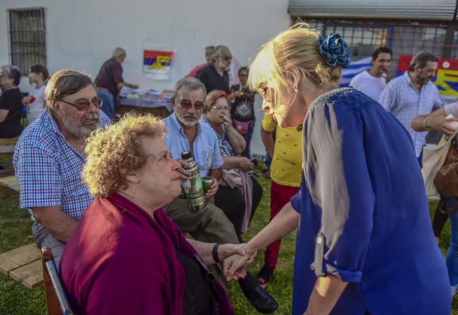 Inauguración del comité Fernando otorgués