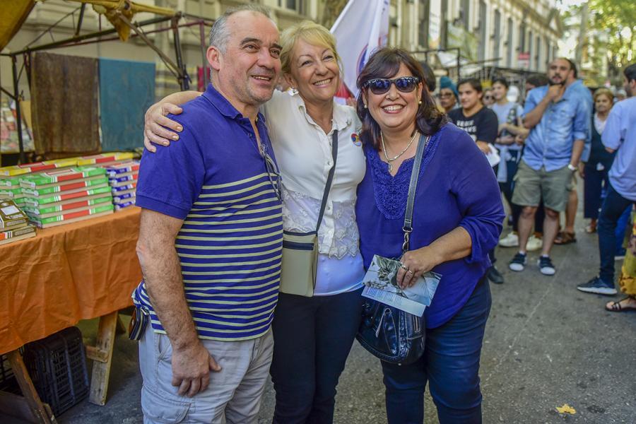 Desembarco en la Feria Tristán Narvaja