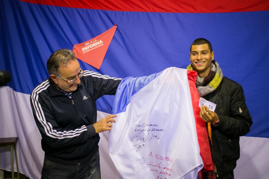 Encuentro en Club Atlético Vencedor - La Teja
