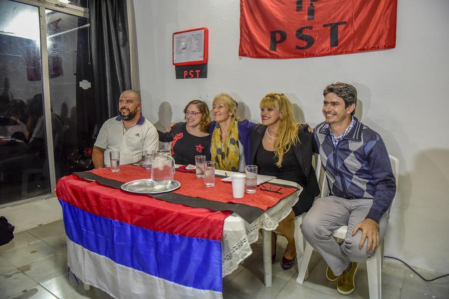 Inauguración de local del PST en Paysandú