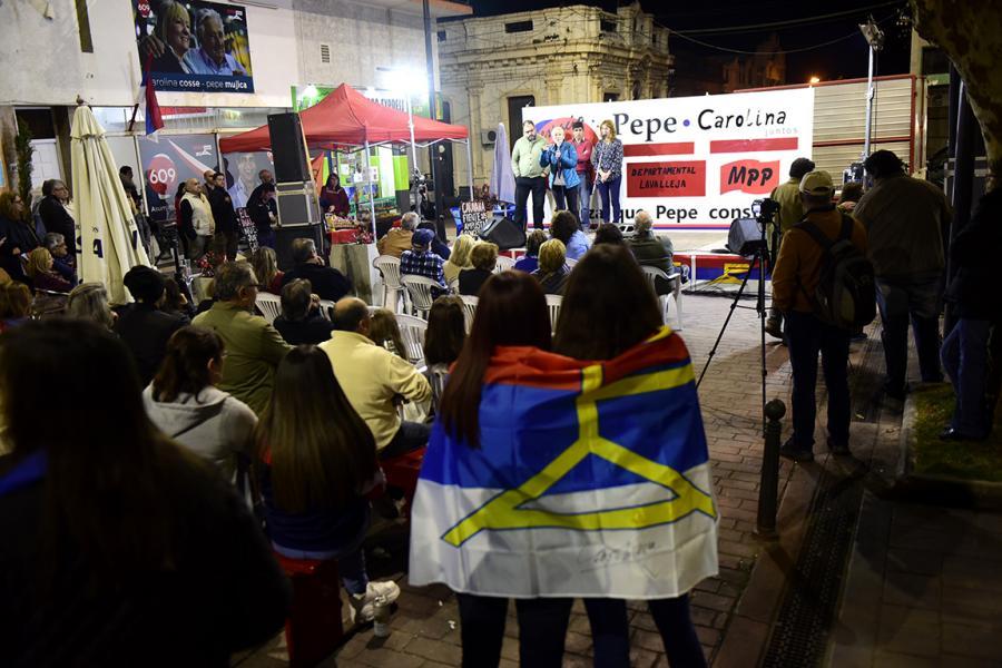 Inauguración local del MPP en Minas
