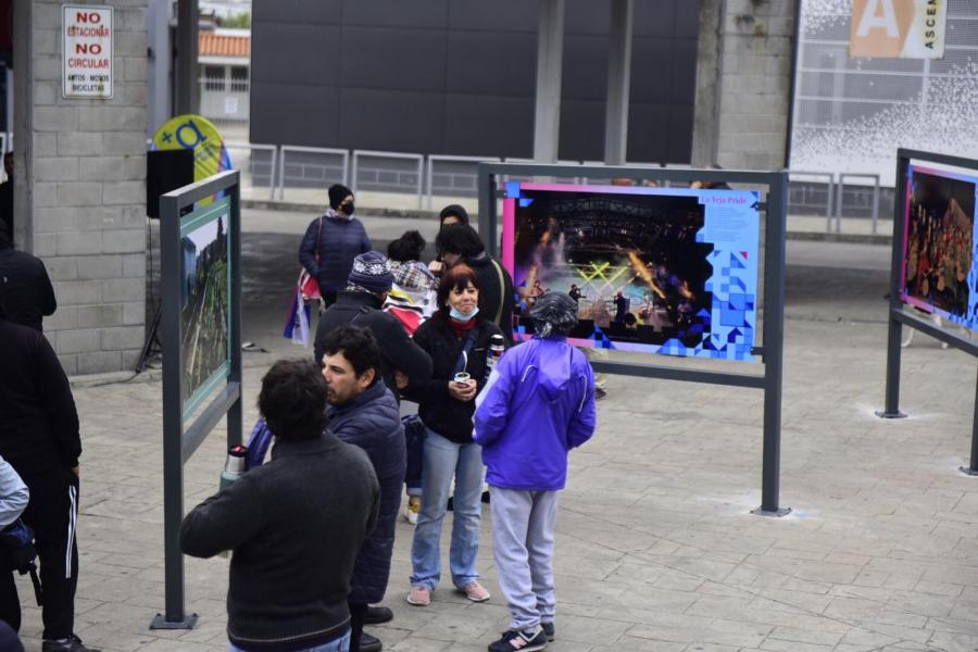 Inauguración fotogalería Terminal del Cerro
