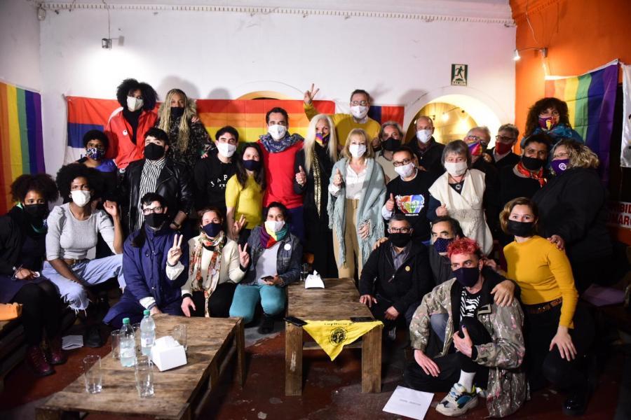Encuentro con colectivos y organizaciones LGTV