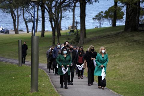 Visita al Memorial de los Detenidos Desaparecidos