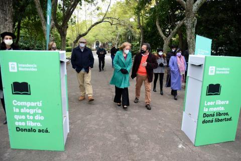 DONACIÓN DE LIBROS Jardín Botánico