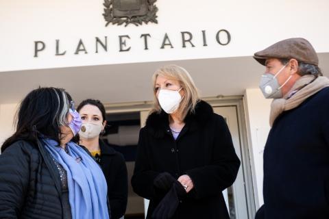 Reinaguración del Planetario de Montevideo