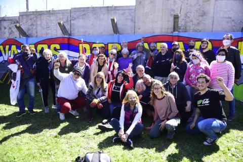 Pintada Unitaria-Brigada Andrés di Pascua